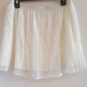 American eagle mesh skirt